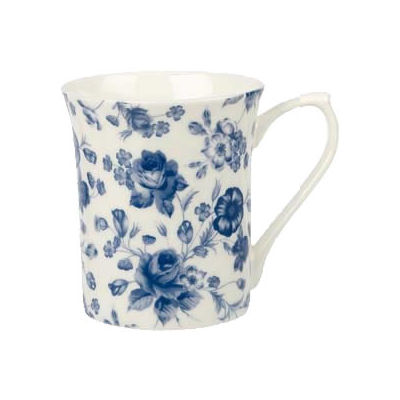 Churchill Queens Mugs Mug Small Blue Story Blooms
