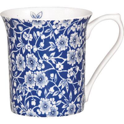 Churchill Queens Mugs Mug Small Blue Story Calico Louis