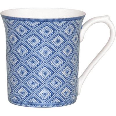 Churchill Queens Mugs Mug Small Blue Story Stucco