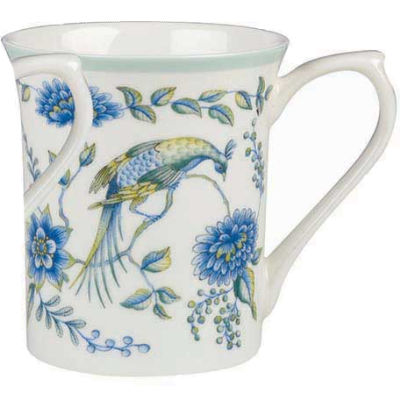 Churchill Queens Mugs Mug Small Peacock Blue
