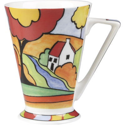 Churchill Queens Mugs Mug Tall Clarice Cliff River Cottage