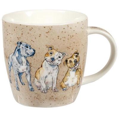 Churchill Queens Mugs Mug Tub Companions Staffie