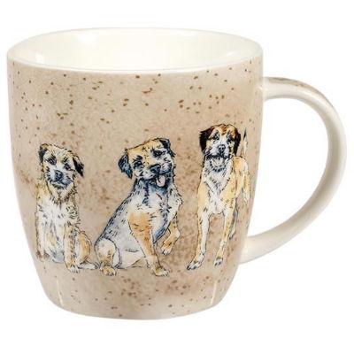 Churchill Queens Mugs Mug Tub Companions Terrier