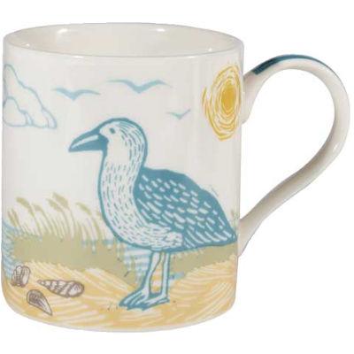 Churchill Queens Mugs Mug Woodcut Seagull