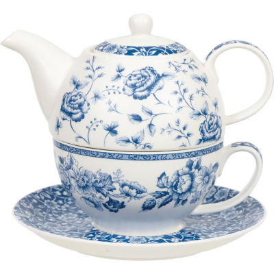 Churchill Queens Mugs Tea For One Blue Story