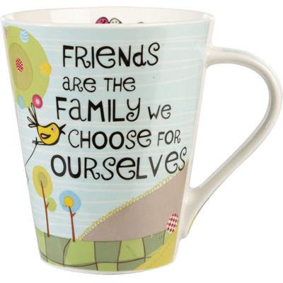 Churchill The Good Life Mug Friends are Family