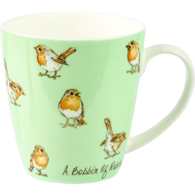 Churchill The In Crowd Collection Mug A Bobbin Of Robins