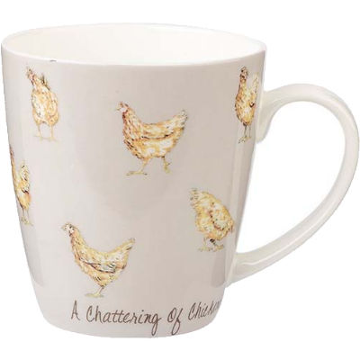 Churchill The In Crowd Collection Mug A Chattering Of Chickens