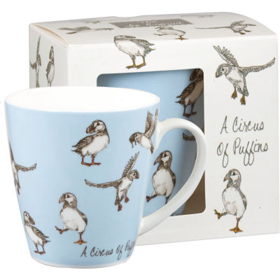 Churchill The In Crowd Collection Mug A Circus Of Puffins