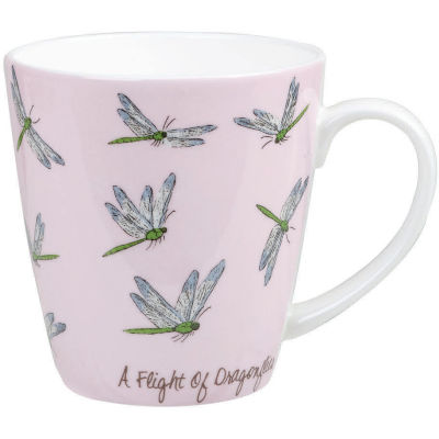 Churchill The In Crowd Collection Mug A Flight Of Dragonflies