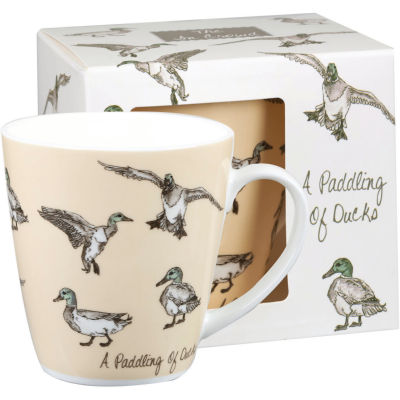 Churchill The In Crowd Collection Mug A Paddling Of Ducks