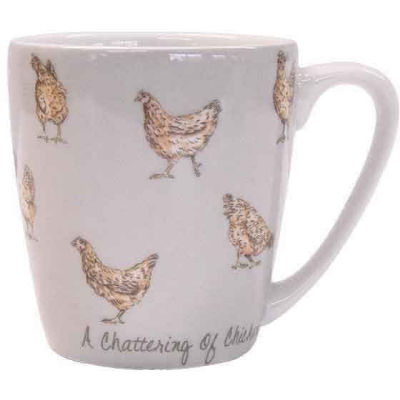 Churchill The In Crowd Collection Mug Acorn A Chattering Of Chickens