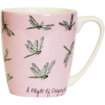 Churchill The In Crowd Collection Mug Acorn A Flight Of Dragonflies