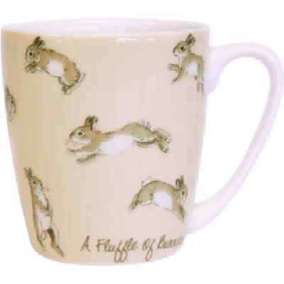 Churchill The In Crowd Collection Mug Acorn A Fluffle Of Bunnies