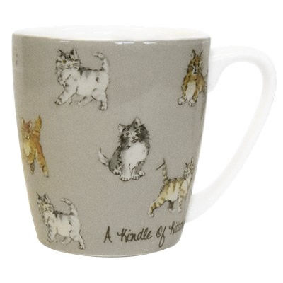 Churchill The In Crowd Collection Mug Acorn A Kindle Of Kittens