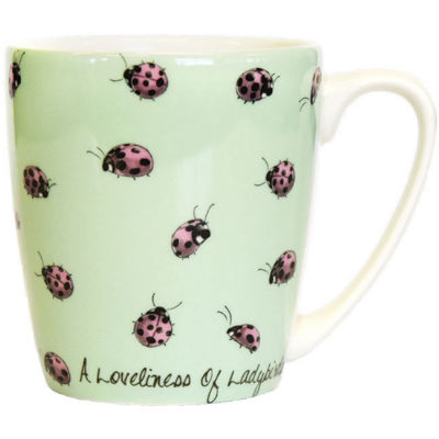 Churchill The In Crowd Collection Mug Acorn A Loveliness Of Ladybirds
