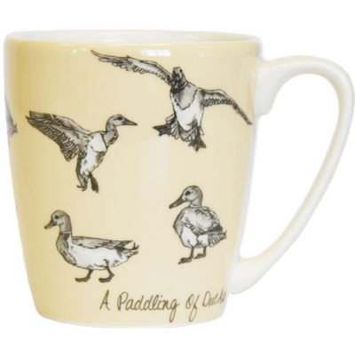 Churchill The In Crowd Collection Mug Acorn A Paddling Of Ducks