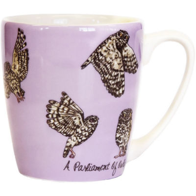 Churchill The In Crowd Collection Mug Acorn A Parliament Of Owls