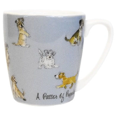 Churchill The In Crowd Collection Mug Acorn A Patter Of Puppies