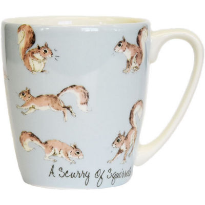 Churchill The In Crowd Collection Mug Acorn A Scurry Of Squirrels
