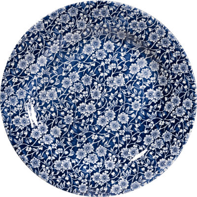 Churchill Victorian Calico Dinner Plate 26cm Blue