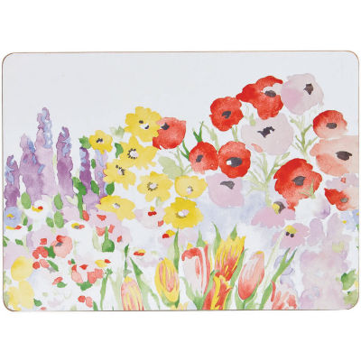 Collier Campbell Coaster Set of 6 Painted Garden
