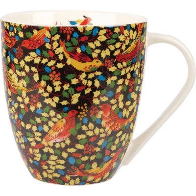 Collier Campbell Large Mug Holly Woodland