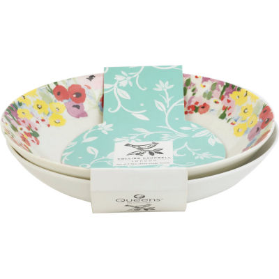 Collier Campbell Pasta Bowl 22cm Set of 2 Painted Garden