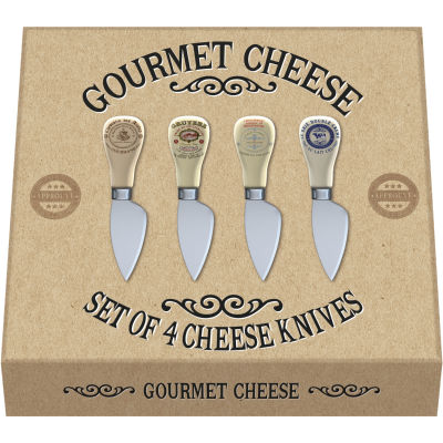 Creative Tops Gourmet Cheese Cheese Knife Set of 4