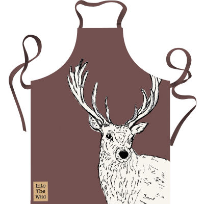 Creative Tops Into The Wild Apron Stag Into The Wild