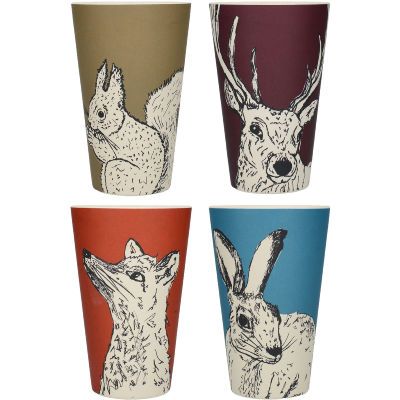 Creative Tops Into The Wild Beaker Set of 4 Into The Wild