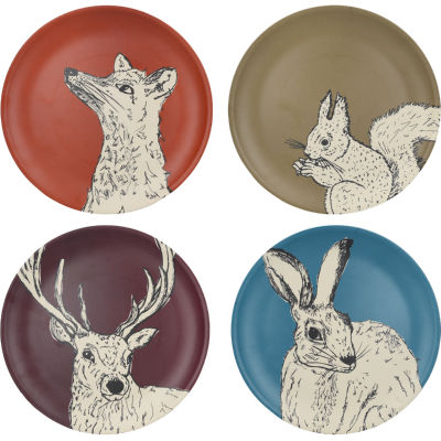 Creative Tops Into The Wild Dinner Plate Set of 4 Into The Wild