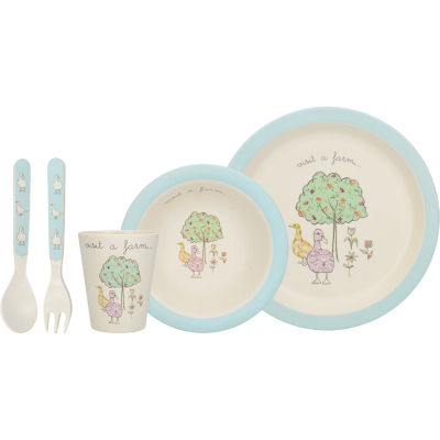 Creative Tops Into The Wild Dinner Set Duck
