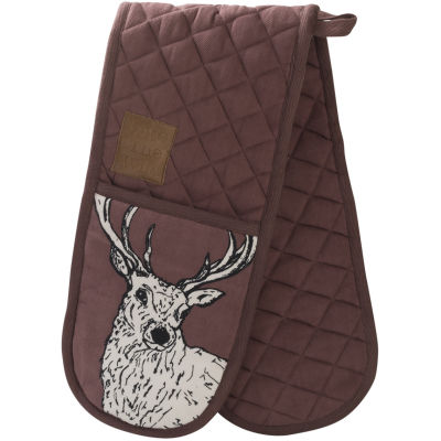 Creative Tops Into The Wild Double Oven Glove Stag Into The Wild