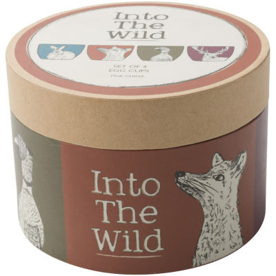 Creative Tops Into The Wild Eggcup Set of 4 Into The Wild
