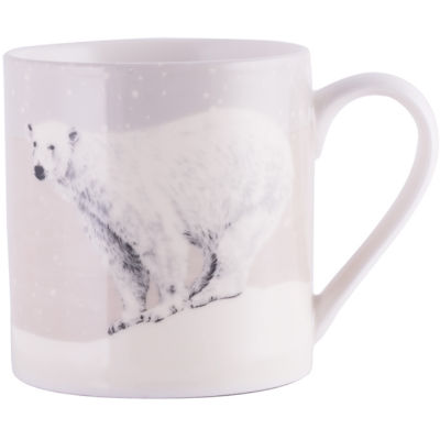 Creative Tops Into The Wild Mug Polar Bear Snow Scenes