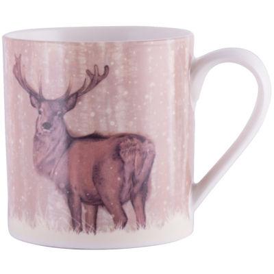Creative Tops Into The Wild Mug Stag Snow Scenes