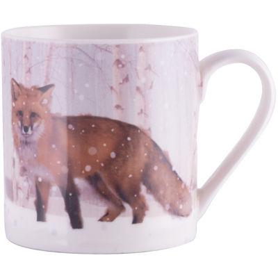 Creative Tops Into The Wild Mug Winter Fox Snow Scenes