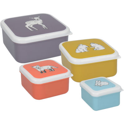 Creative Tops Into The Wild Snack Pot Set of 4