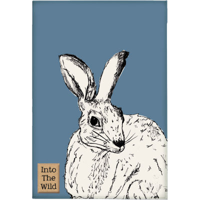 Creative Tops Into The Wild Tea Towel Hare Into The Wild