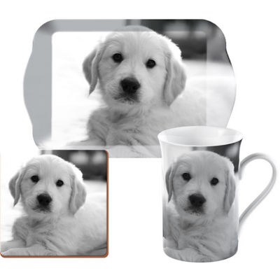 Creative Tops Into The Wild Time For Tea Set Puppy Pet Corner