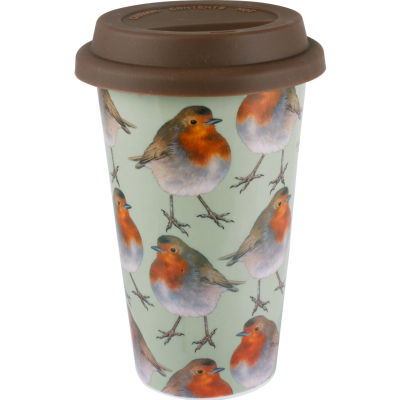 Creative Tops Into The Wild Travel Mug Robin Into The Wild