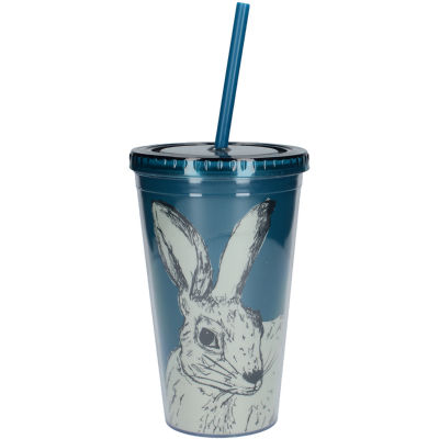 Creative Tops Into The Wild Tumbler & Straw Hare
