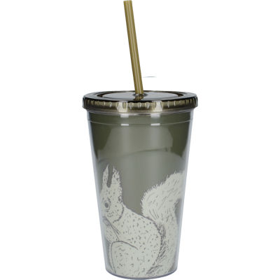 Creative Tops Into The Wild Tumbler & Straw Squirrel