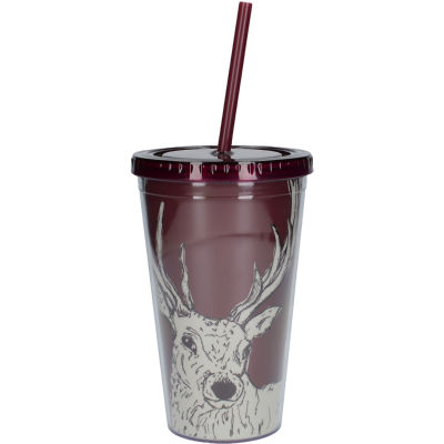 Creative Tops Into The Wild Tumbler & Straw Stag