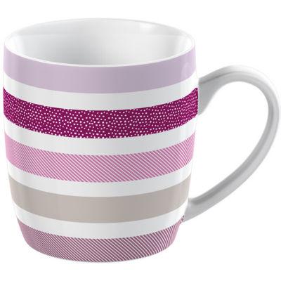 Creative Tops Mug Collection Mug Barrel Stripe Pink