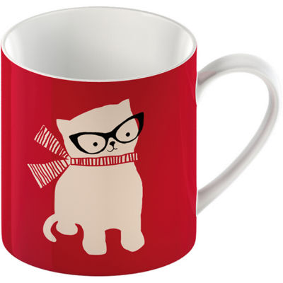 Creative Tops Mug Collection Mug Cat Red
