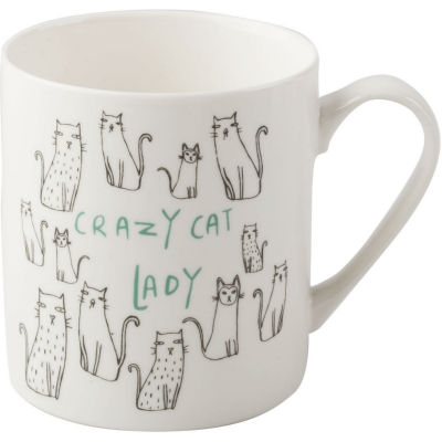 Creative Tops Mug Collection Mug Crazy Cat Lady