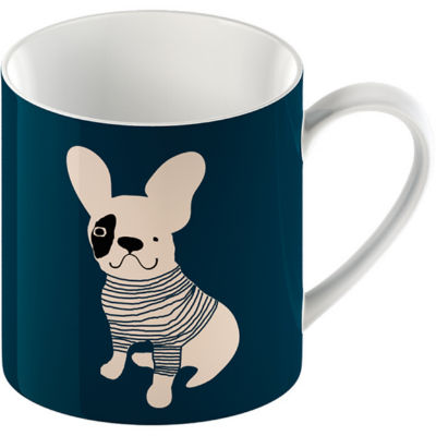 Creative Tops Mug Collection Mug French Bulldog Blue