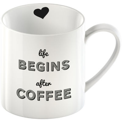 Creative Tops Mug Collection Mug Life Begins After Coffee